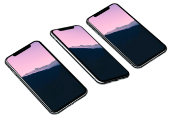 Айфон 10 png