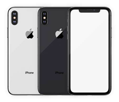 модели iPhone X png