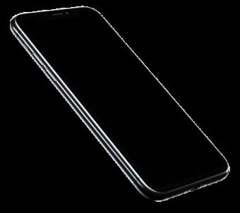 Черный iPhone X
