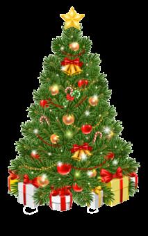 Красивая елка