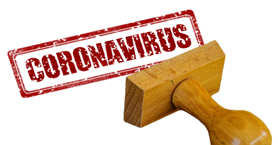 стоп коронавирус штамп