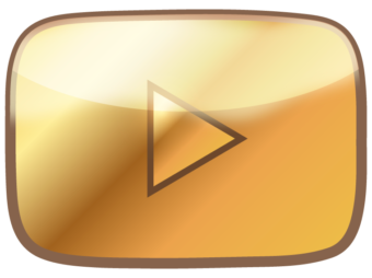 Золотая кнопка YouTube