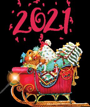 Подарки от Санты Клауса 2021