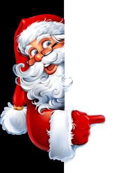 Рисунок Санта Клаус