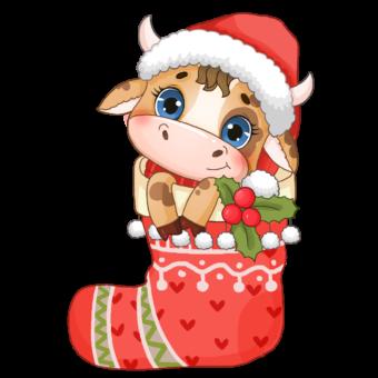 Новый года быка
