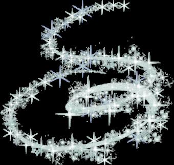Снежинки кружатся