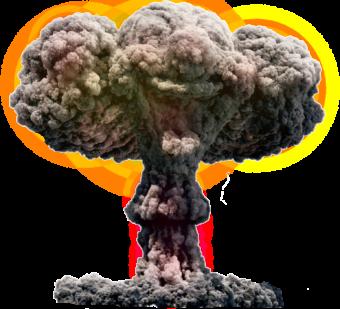 ядерный взрыв прикол