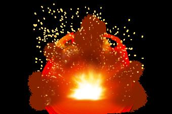 огонь взрыв