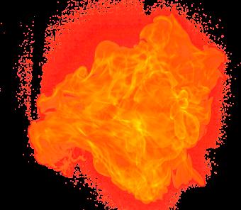 Оранжевое пламя
