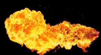 огонь взрыв пламя
