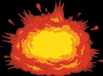 Взрыв рисунок