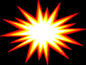 мультяшный взрыв