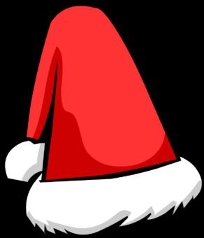 Новогодний красный колпак