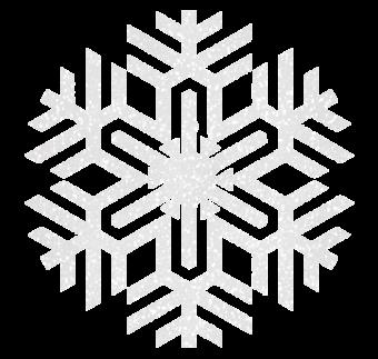 Блестящая снежинка рисунок