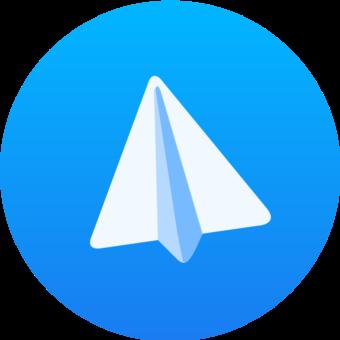 телеграм лого