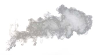 Серый дым