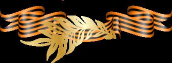 Георгиевская лента и золотая ветвь