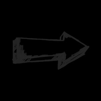 стрелка рисованая