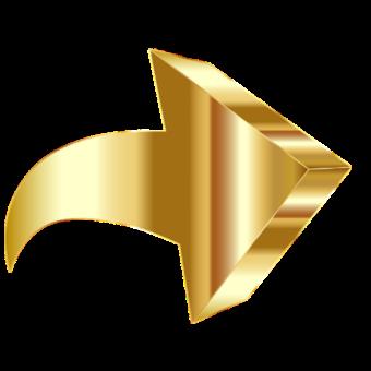 стрелка золотая