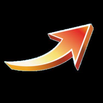 стрелка оранжевая