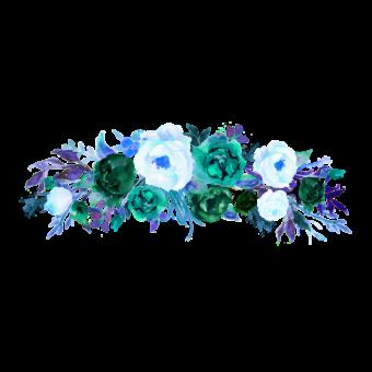 веночек цветы