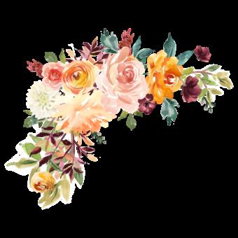 цветы акварельные