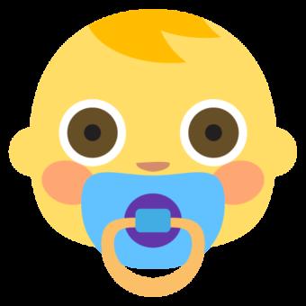 Младенец смайлик лицо