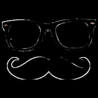 очки и усы