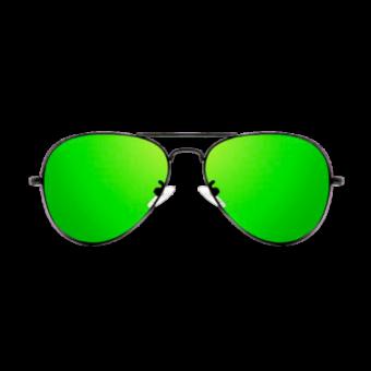 очки зеленые