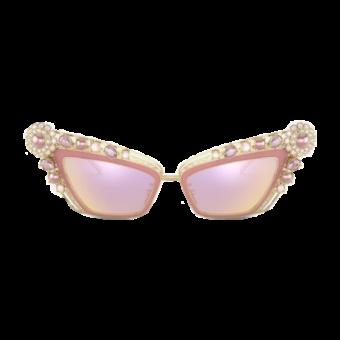 очки с бусинами