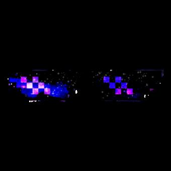 очки пиксельные