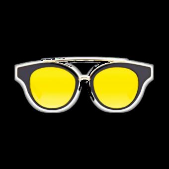 очки желтые