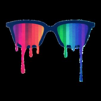 очки красочные