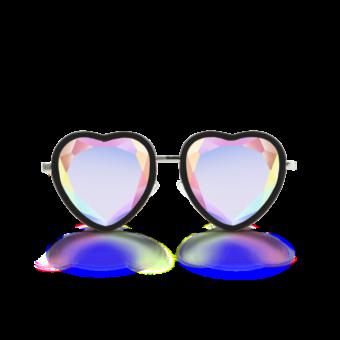 очки сердце