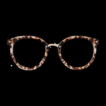 очки прозрачные леопардовые