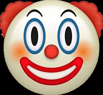 Смайлик клоун