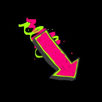 стрелка красочная