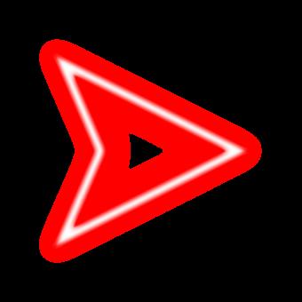 стрелка курсор красный