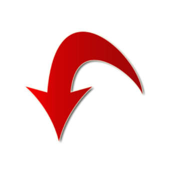 стрелка красная