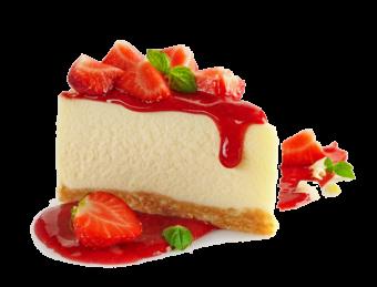 пирог клубничный чизкейк