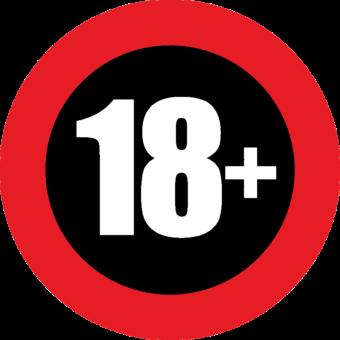 иконка 18+
