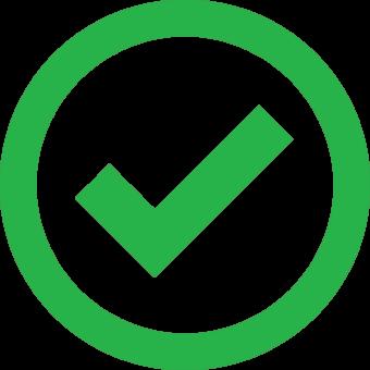 зеленая галочка