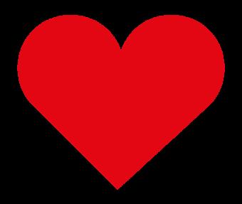 лайк инстаграм красное сердечко