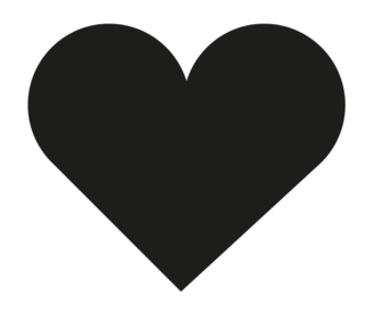 лайк инстаграм черное сердечко