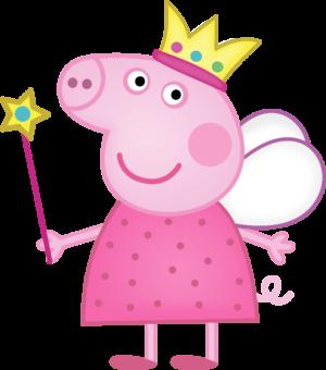 свинка Пеппа принцеса фея