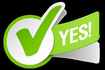 Да!, Галочка Компьютерные иконки Символ, Зеленая галочка, текст, логотип