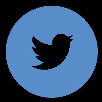 круглая иконка Twitter