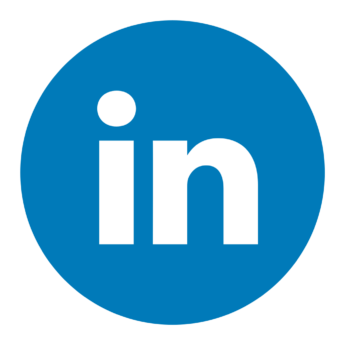 Круглая иконка linkedin