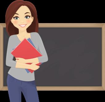 Учительница клипарт