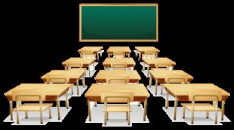 Школьный класс, парты